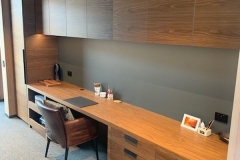 Walnut veneer home office 1