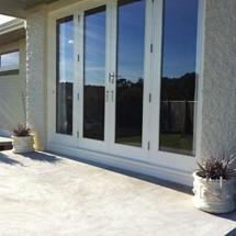 A retrofit double glazed window.